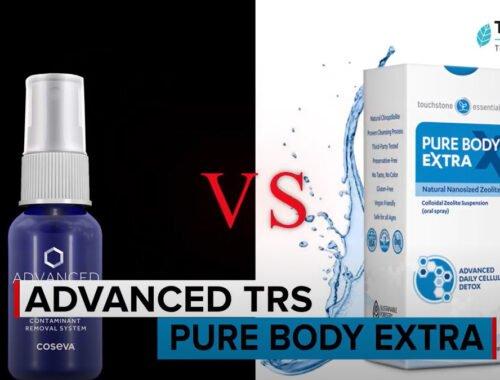 Advanced TRS Spray from Coseva vs. Pure Body Extra